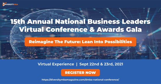 15th Annual National Business Leaders Virtual Conference & Awards Gala